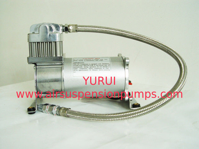 Single Chrome 150psi 12V and 24V Air Compressor IP54 YURUI 6376R