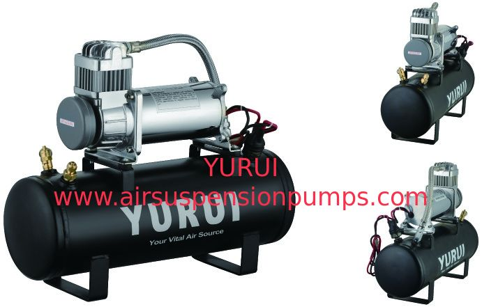 Metal Onboard Air Systems Heavy Duty Air Compressor 150 Psi Strong Power Fast Inflation