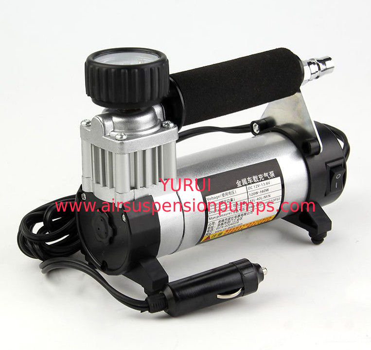 Portable Car Air Compressor With Cigarette Lighter 140PSI Car Pump