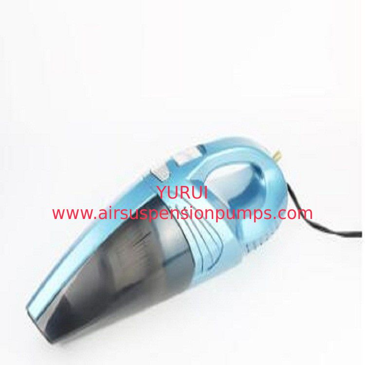 Blue Vehicle Vacuum Cleaner With Caret Tool 250PSI  Compressor  Handheld Vacuum Cleaner