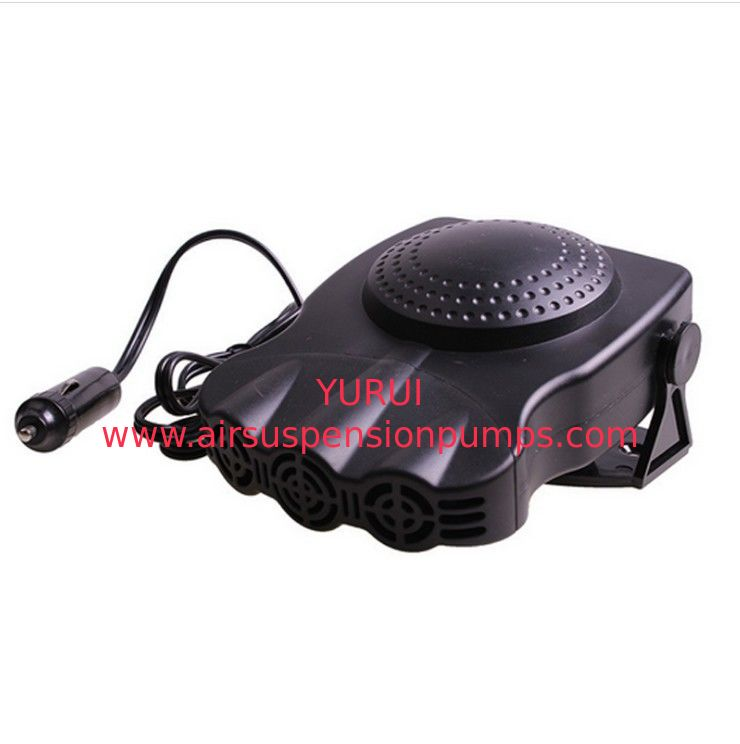 12v 150w Black Portable Auto Heater Small Fan Heater With Cool Warm Switch