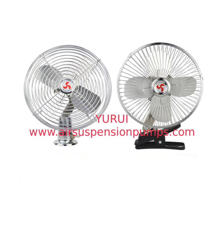 12v / 24v Car Cooling Fan With On - Off Switch Full Safety Metal Guard