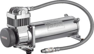 Przenośna Chrom Chłodnica Wszystko Zawieszenie Powietrza Pompa Tuning Samochodowy 12V 40A Dla Pojazdów Drogowych